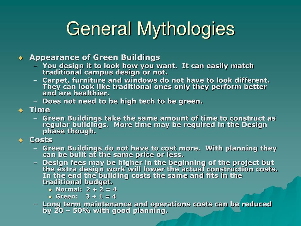 General Mythologies