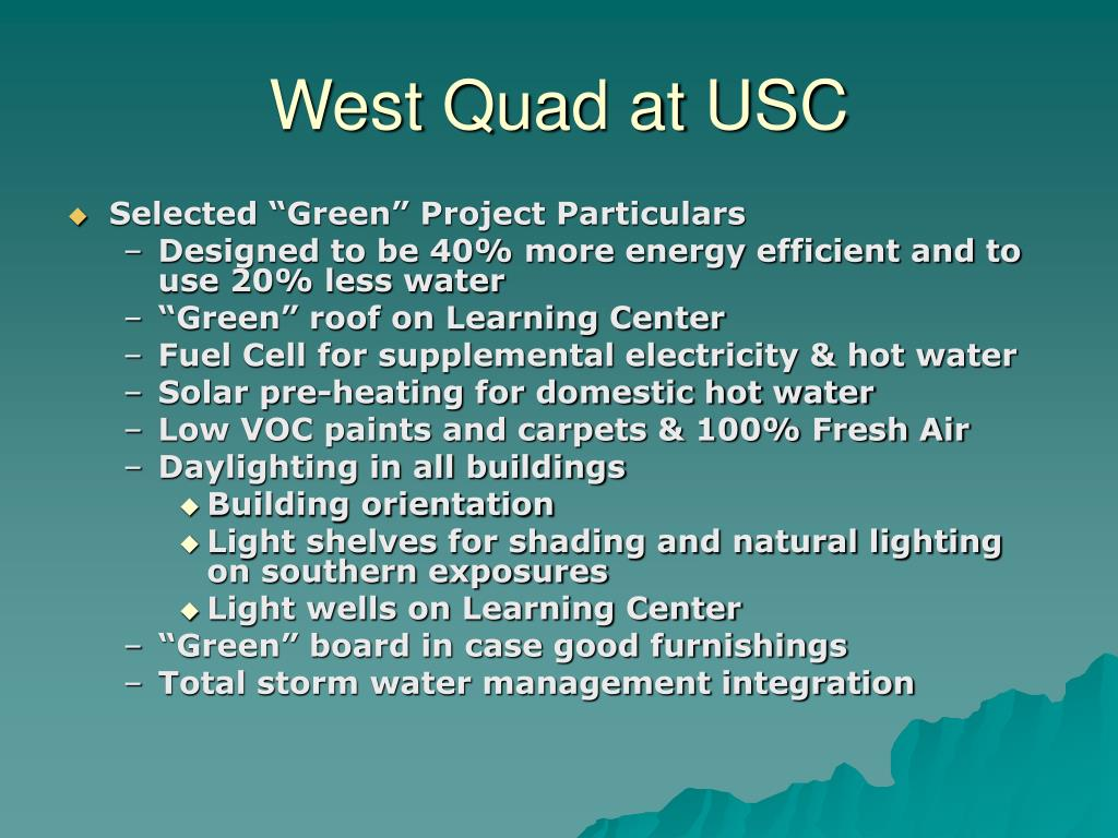 West Quad at USC