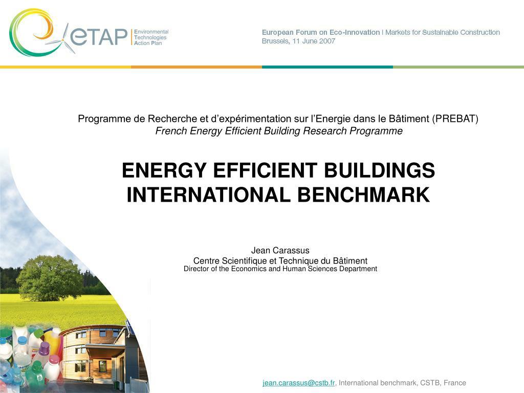 Programme de Recherche et d'expérimentation sur l'Energie dans le Bâtiment
