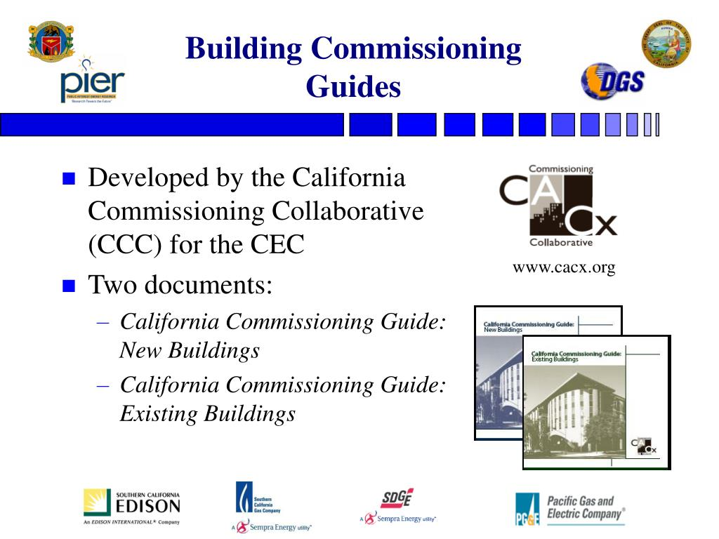 Building Commissioning  Guides