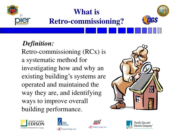 What is retro commissioning
