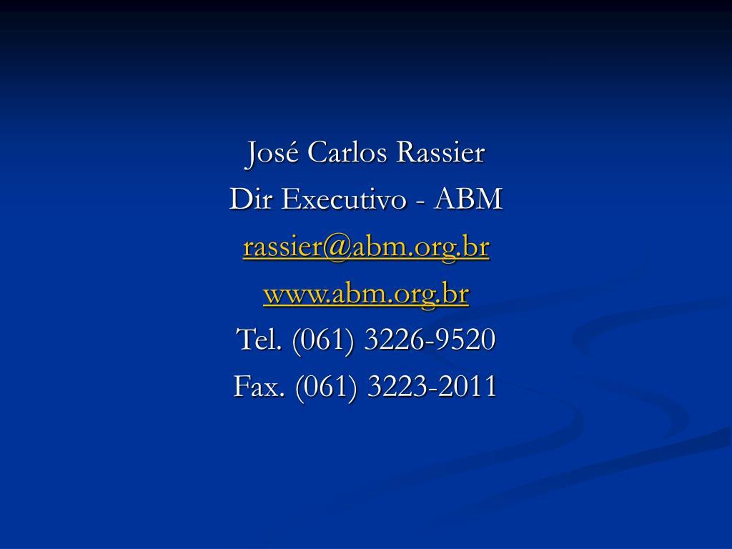 José Carlos Rassier