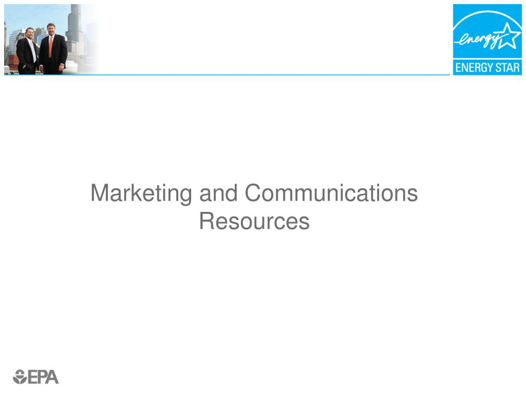 Marketing and Communications Resources