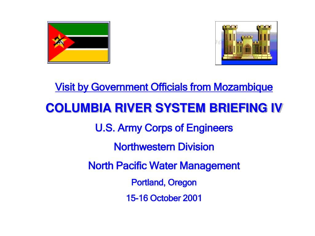 Visit by Government Officials from Mozambique