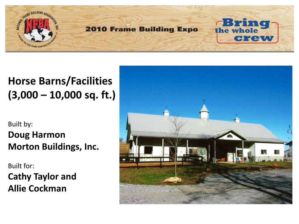 Horse Barns/Facilities