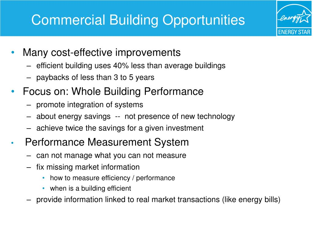 Commercial Building Opportunities