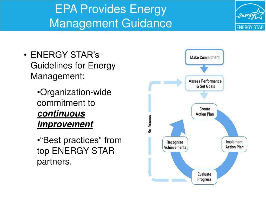 EPA Provides Energy