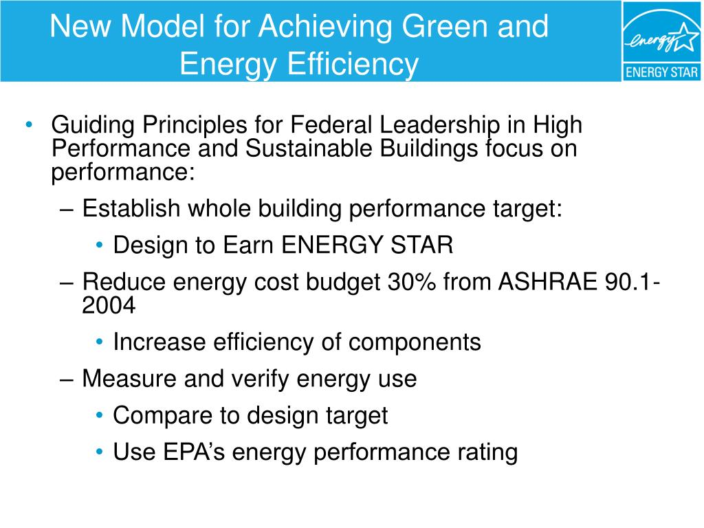 New Model for Achieving Green and Energy Efficiency