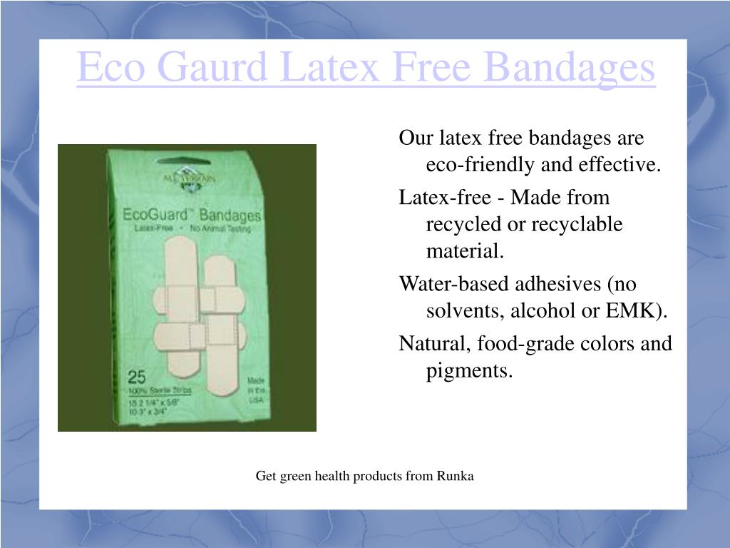 Eco Gaurd Latex Free Bandages