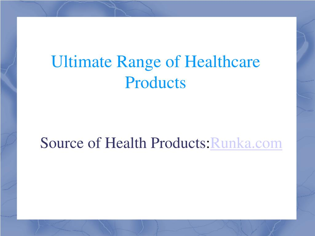 Source of Health Products