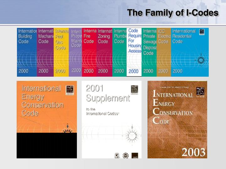 The family of i codes