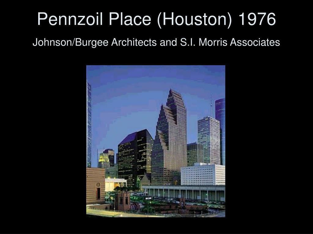 Pennzoil Place (Houston) 1976