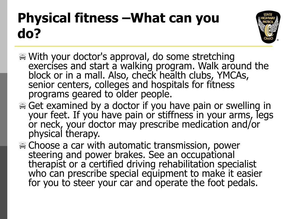 Physical fitness –What can you do?