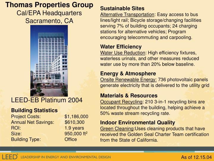 Thomas Properties Group