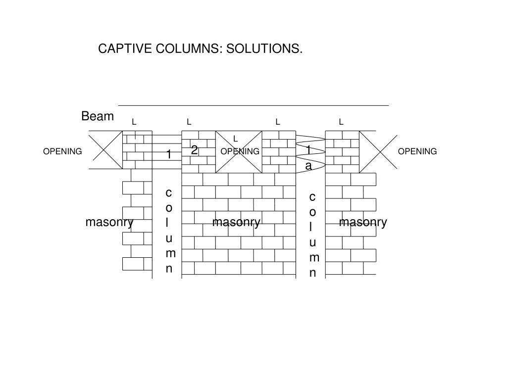 CAPTIVE COLUMNS: SOLUTIONS.