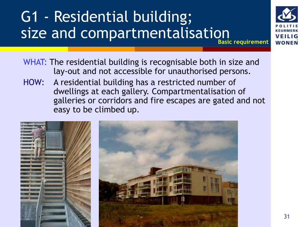 G1 - Residential building;