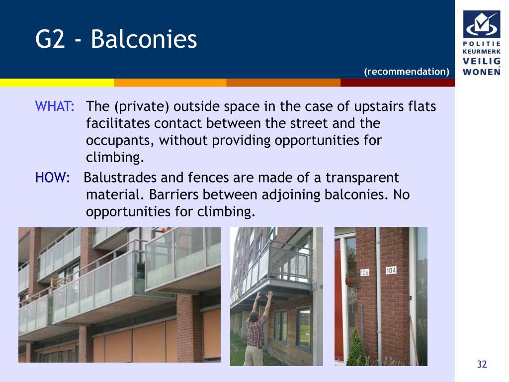 G2 - Balconies