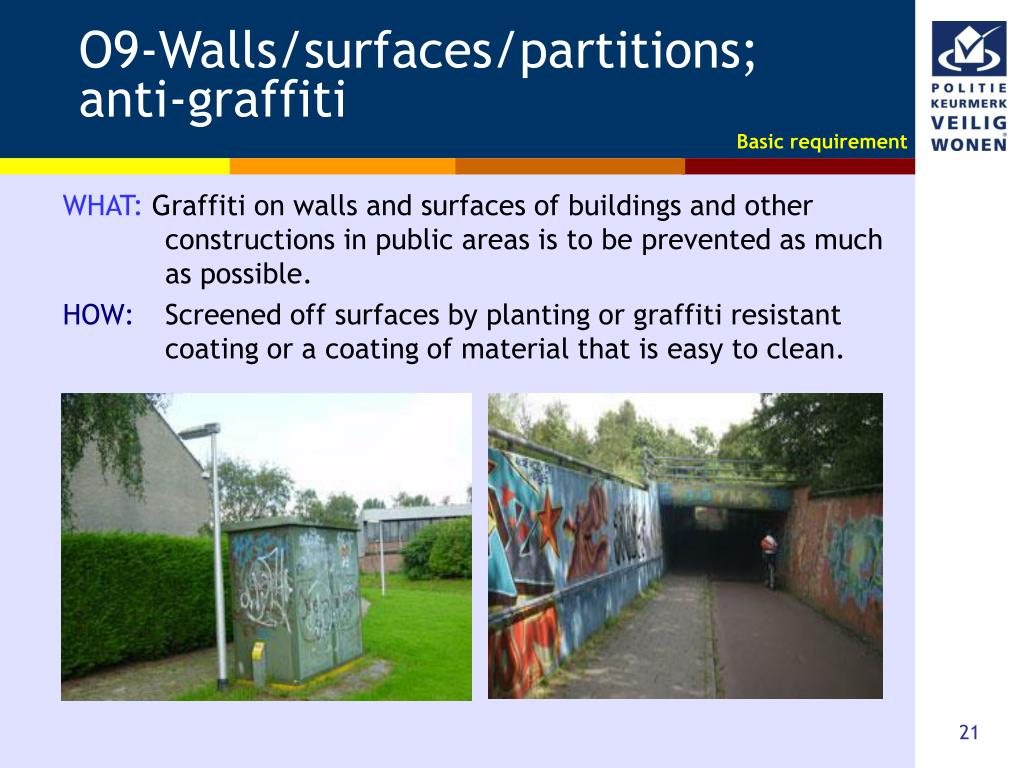 O9-Walls/surfaces/partitions;