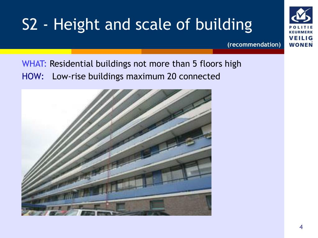 S2 - Height and scale of building