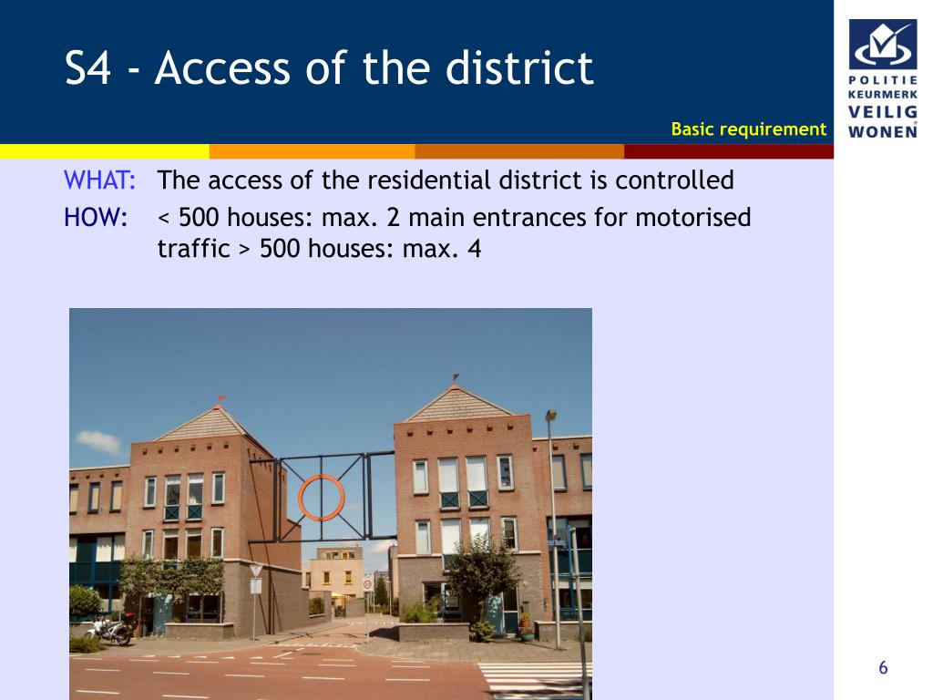 S4 - Access of the district