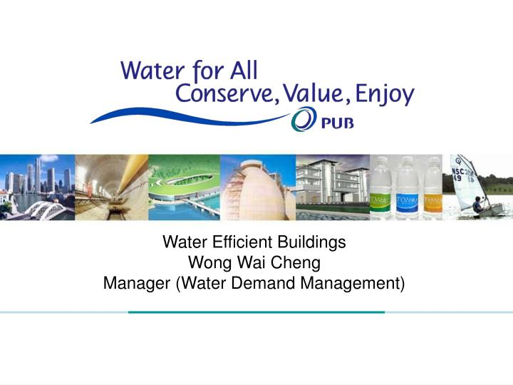 Water Efficient Buildings