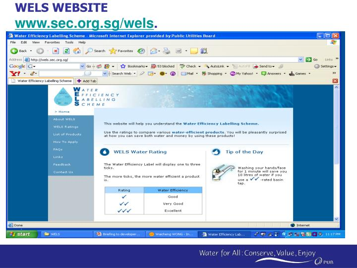 WELS WEBSITE