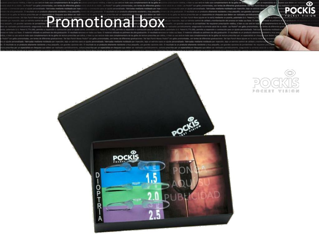 Promotional box