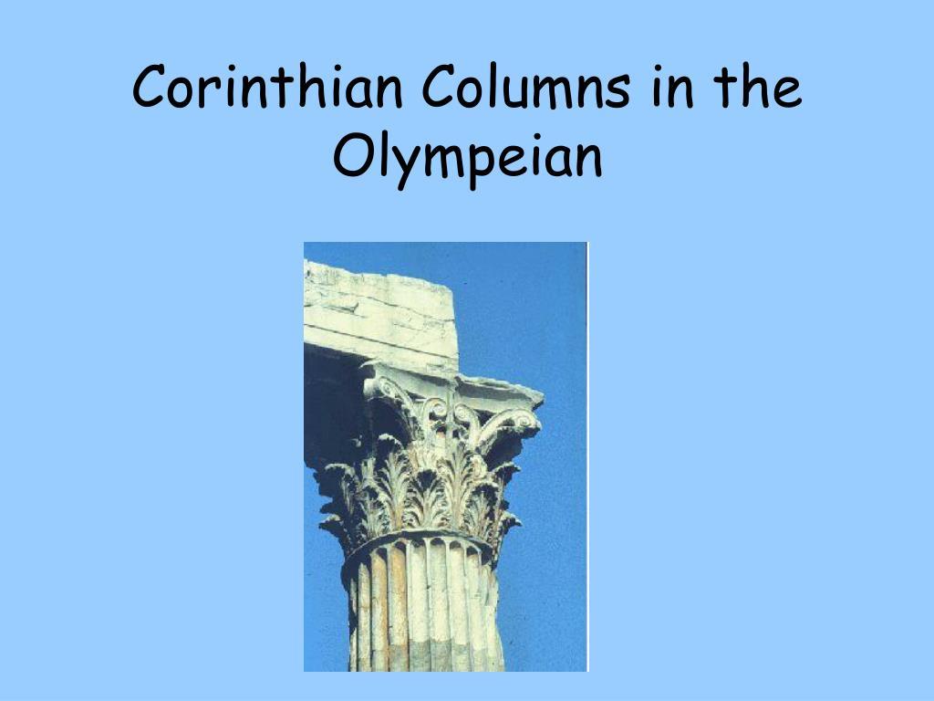 Corinthian Columns in the Olympeian