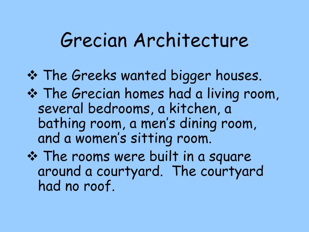 Grecian Architecture