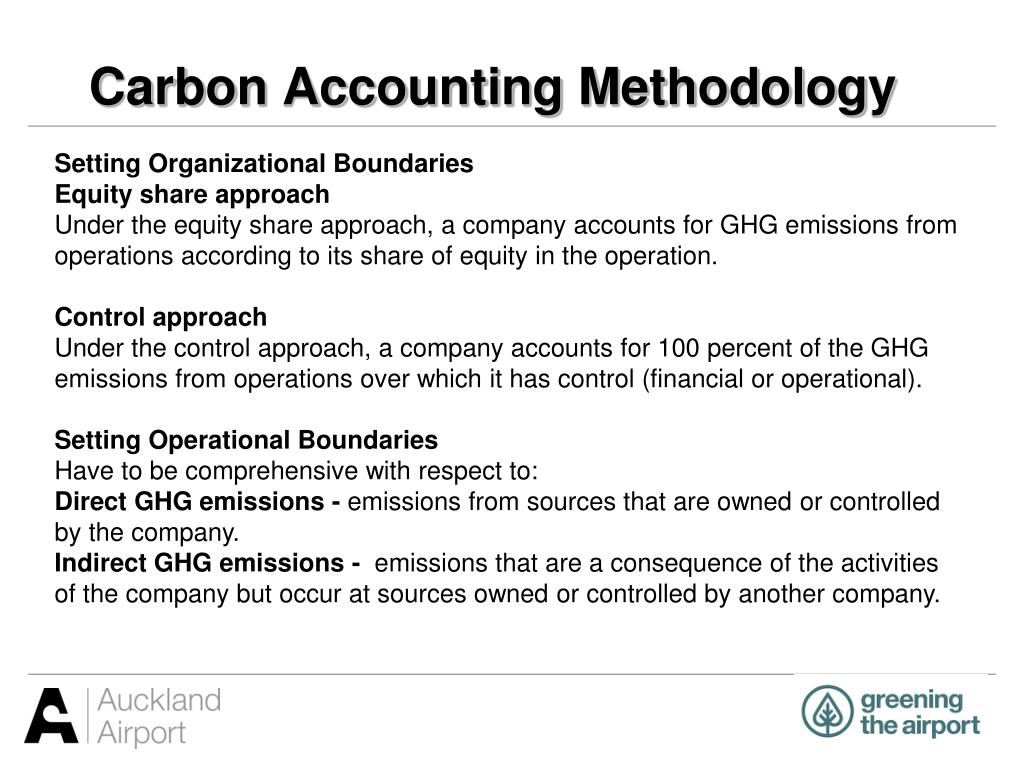 Carbon Accounting Methodology