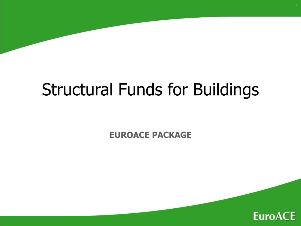 structural funds for buildings