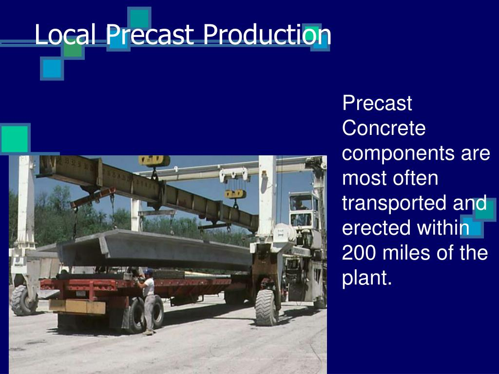 Local Precast Production