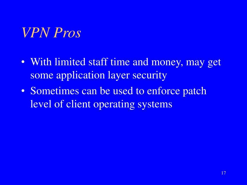 VPN Pros