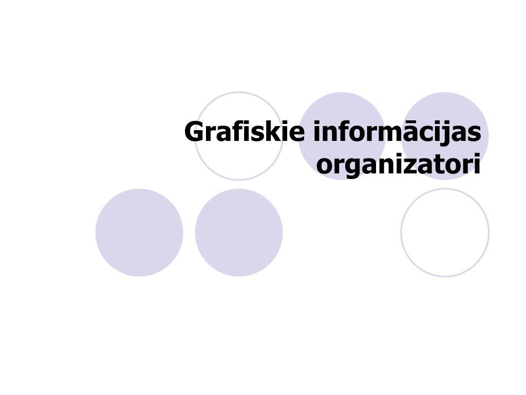 Grafiskie informācijas organizatori