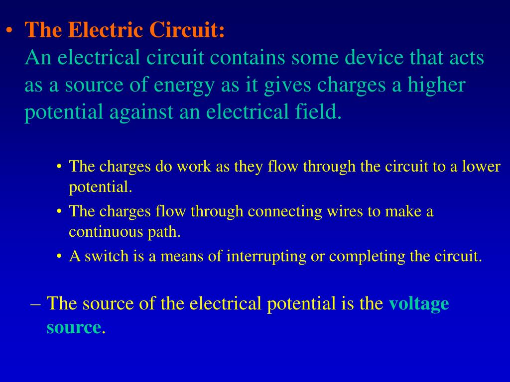The Electric Circuit: