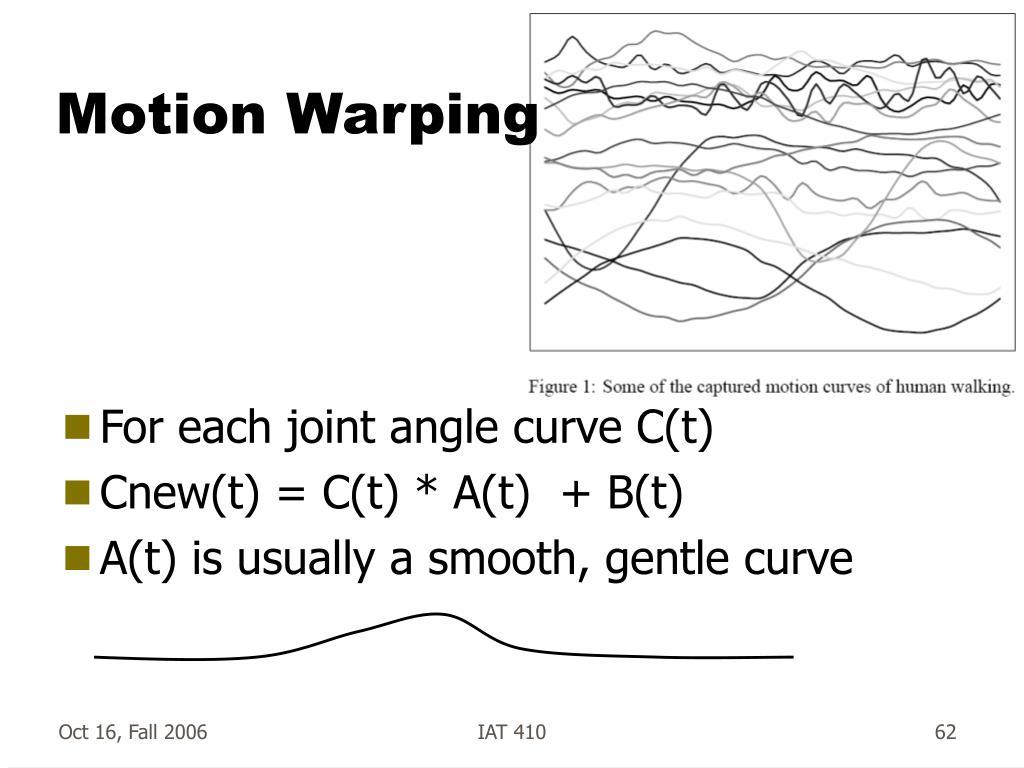 Motion Warping