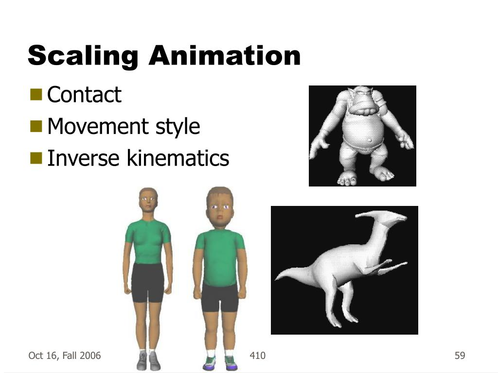 Scaling Animation