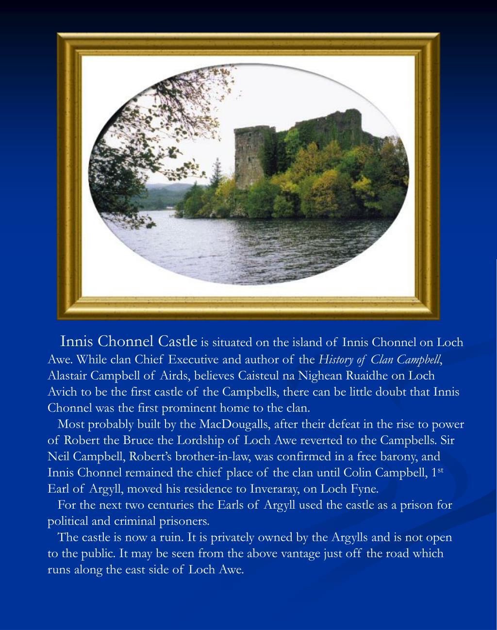 Innis Chonnel Castle