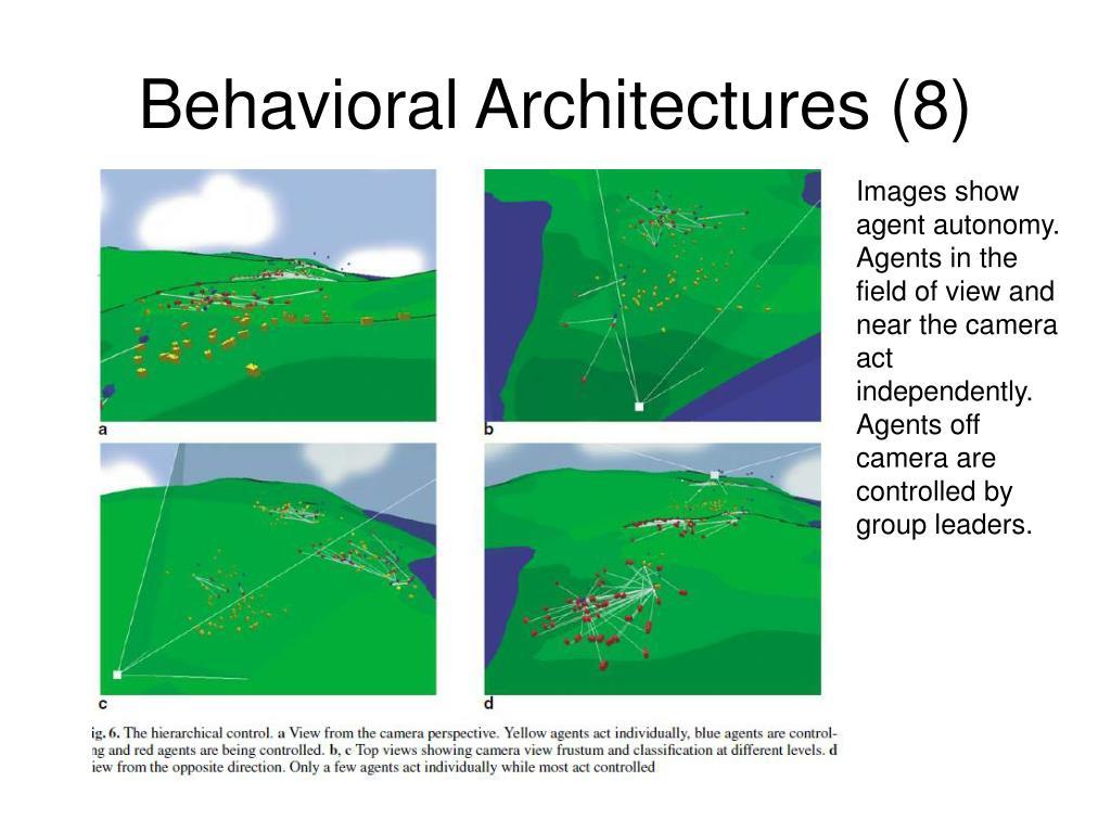 Behavioral Architectures (8)