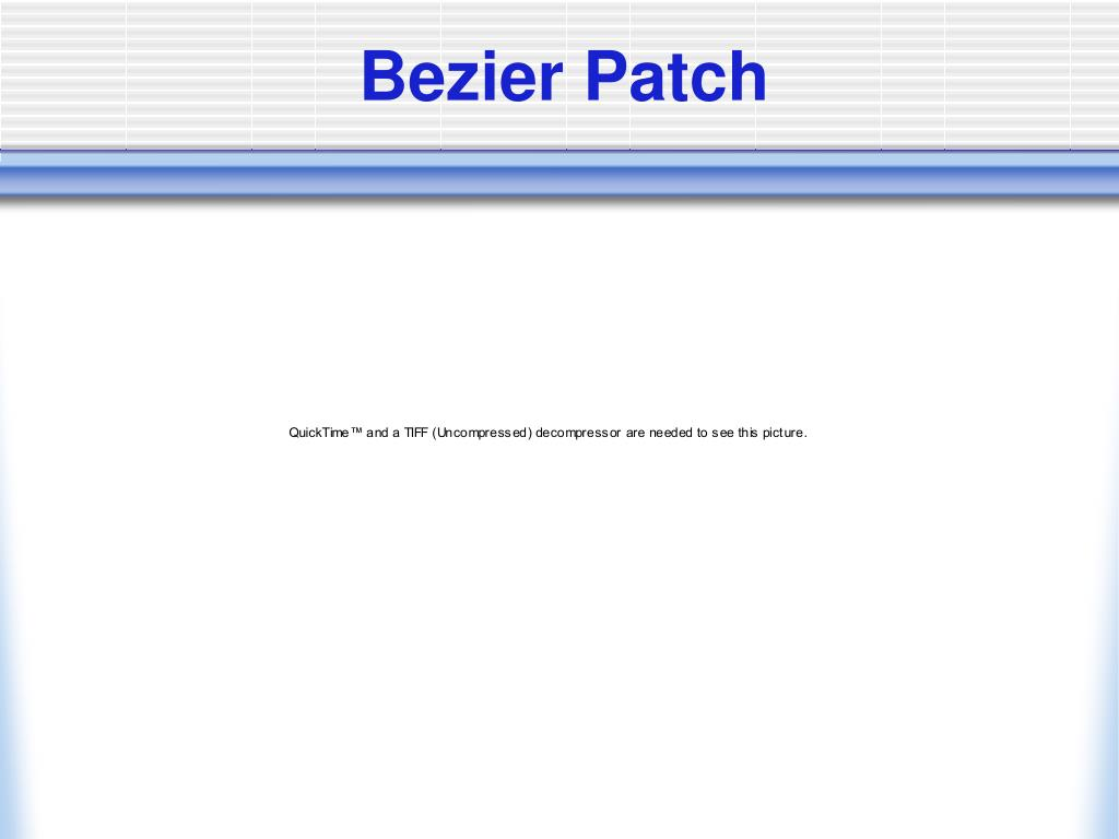 Bezier Patch