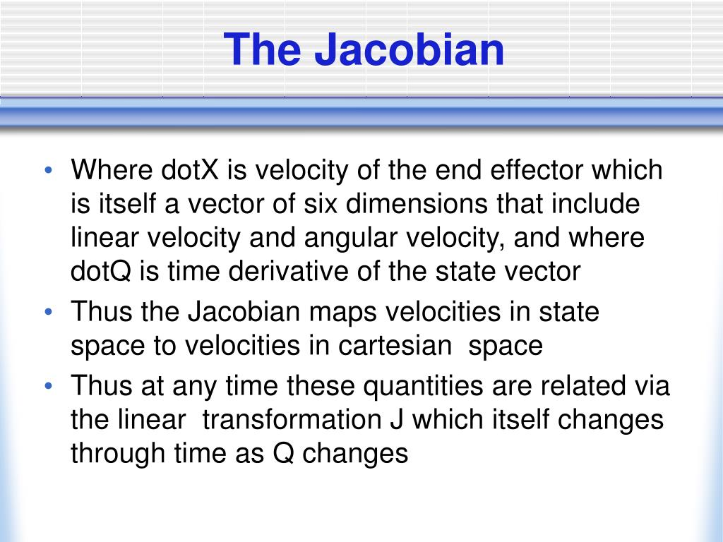 The Jacobian