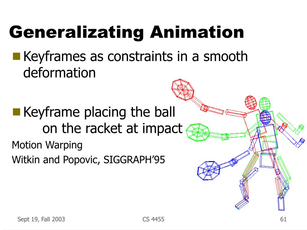 Generalizating Animation