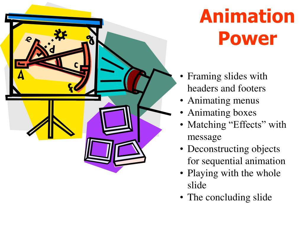 animation power