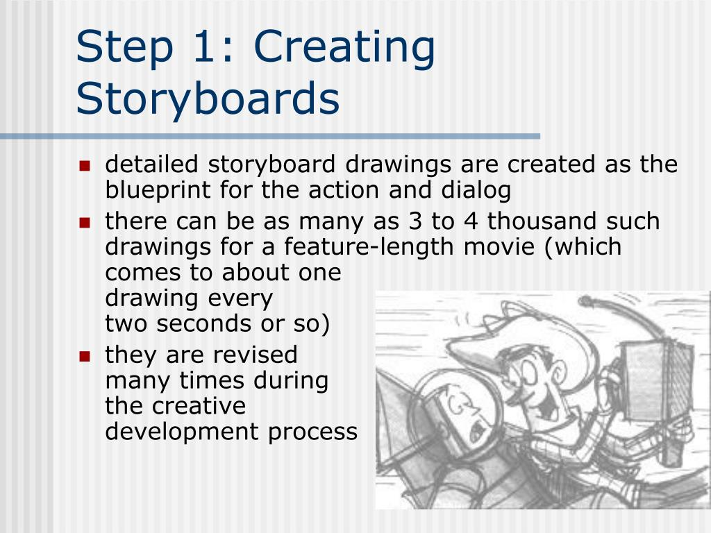 Step 1: Creating Storyboards
