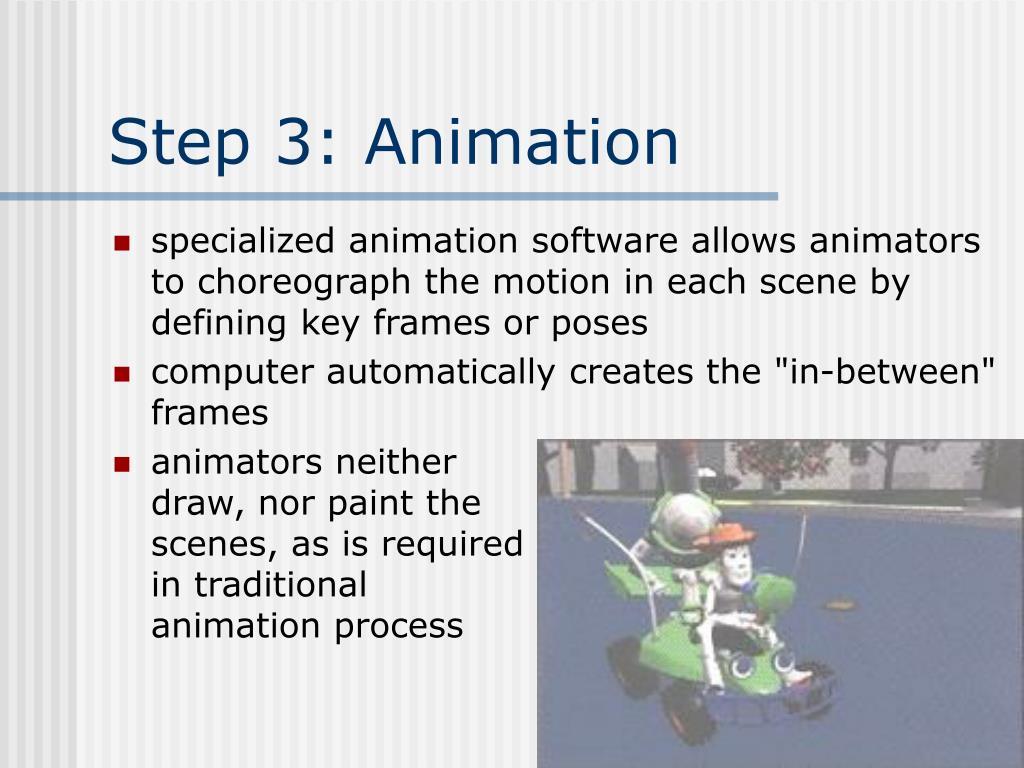 Step 3: Animation