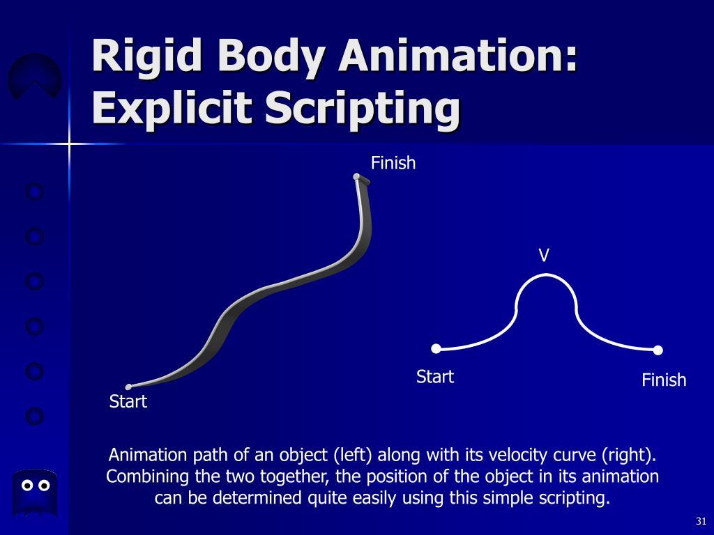Rigid Body Animation: