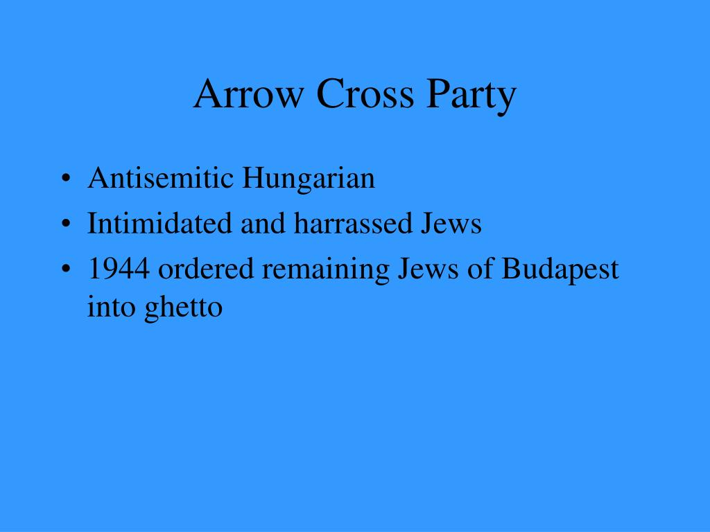 Arrow Cross Party