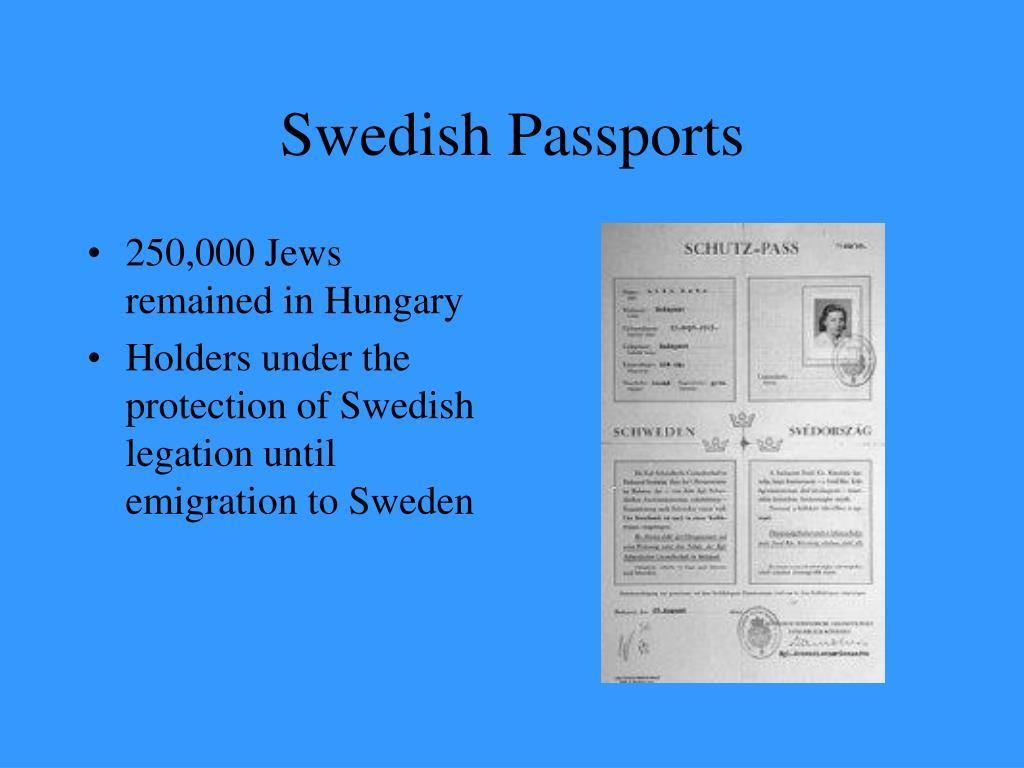 Swedish Passports