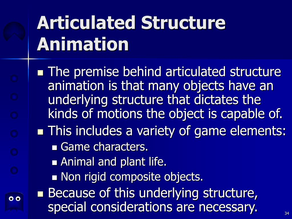 Articulated Structure Animation