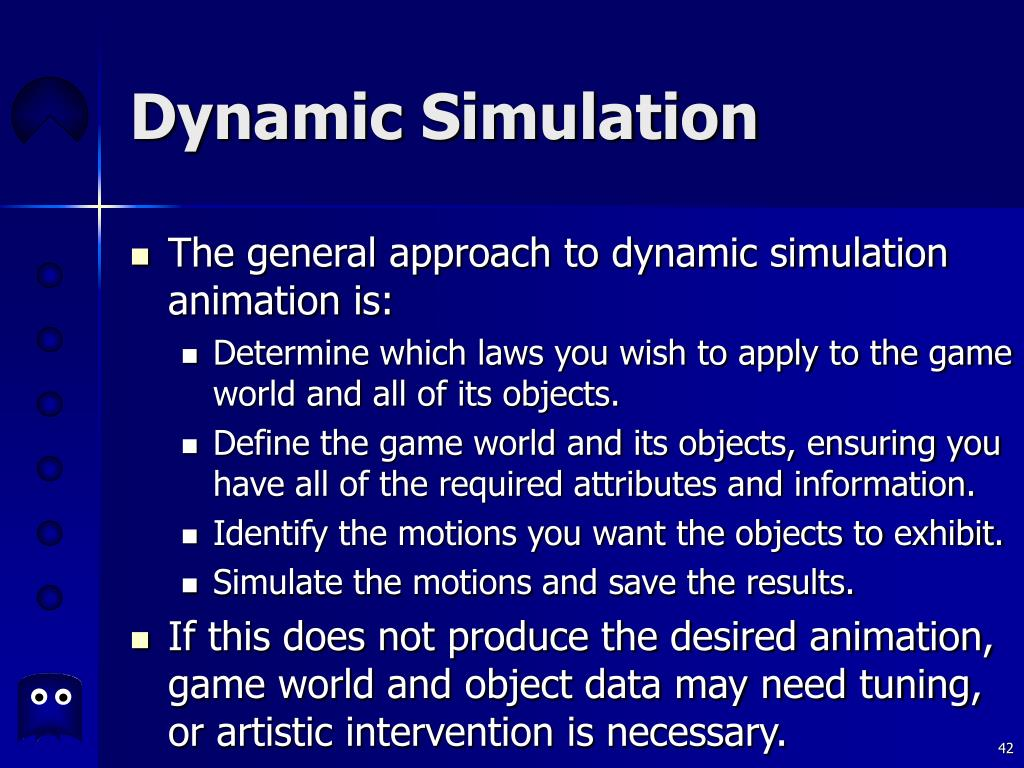 Dynamic Simulation